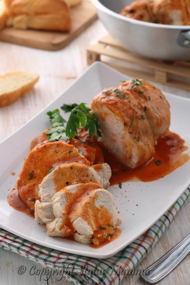 Arrostini di pollo gustosi facili e veloci