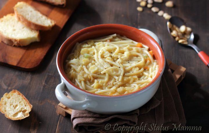 Ricetta zuppa di pasta con le cicerchie