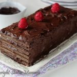 Torta fredda ai wafer golosa ricetta dolce senza cottura