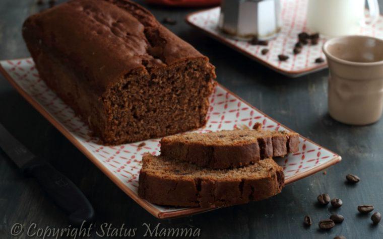 Plumcake moka soffice cioccolato e ricotta