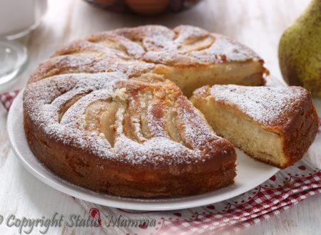 Torta pere e mascarpone ricetta soffice