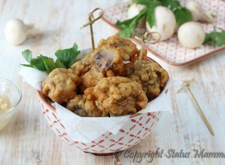Funghi in pastella di pane