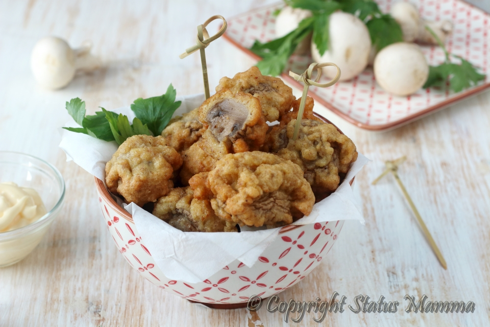 Funghi in pastella
