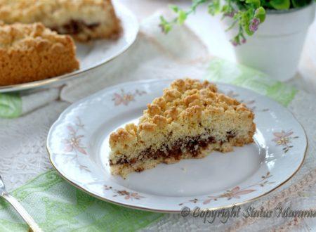 Ricetta torta sbriciolata ricotta e cioccolato