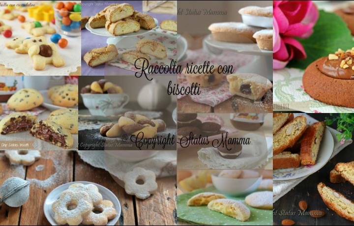 Raccolta ricette con biscotti