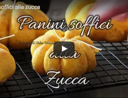Video ricetta tutorial panini soffici alla zucca