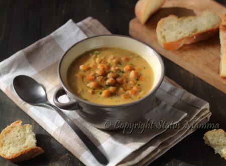 Zuppa di ceci gustosa