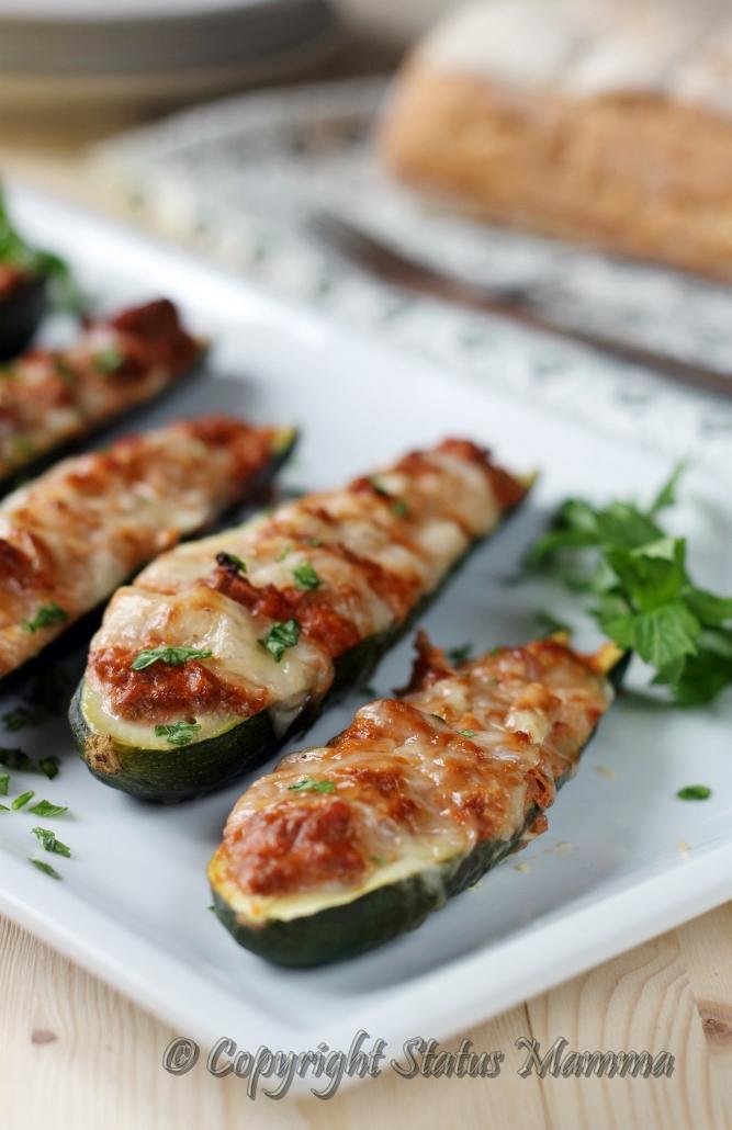 Ricetta zucchine ripiene di ragù di carne e provola ricetta secondo facile velecoe con verdure e carne ricetta per bambini cucinare tutorial Statusmamma gialloblogs