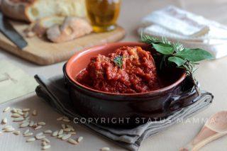 Ricetta sugo di carne alla genovese, tuccu o tocco di carne