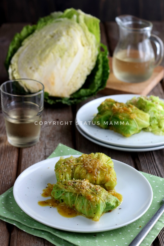 Involtini di verza con patate al curry ricetta vegetariana
