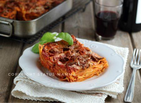 Ricetta lasagna al ragù napoletano