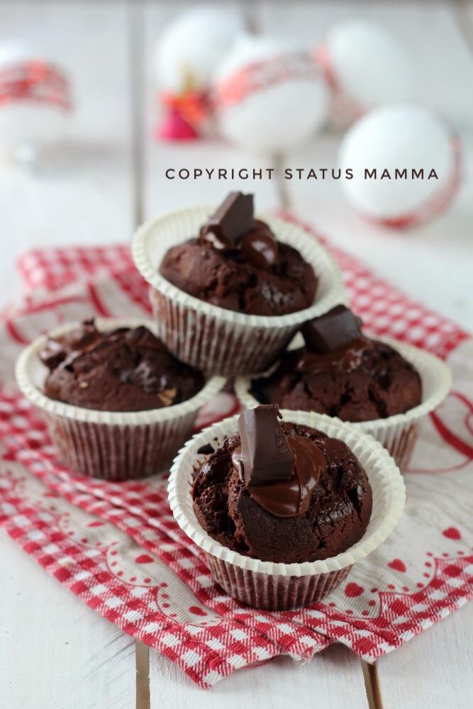Muffin al cioccolato e wafer foto food photograpy statusmamma gialloblogs dolce colazione merenda fondente foloso foodporn video ricetta cucinare