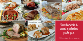 Raccolta ricette di arrosti e polpettoni per le feste