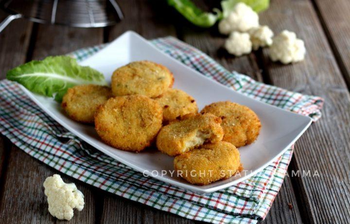 Crocchette di cavolfiore e patate ricetta senza uova