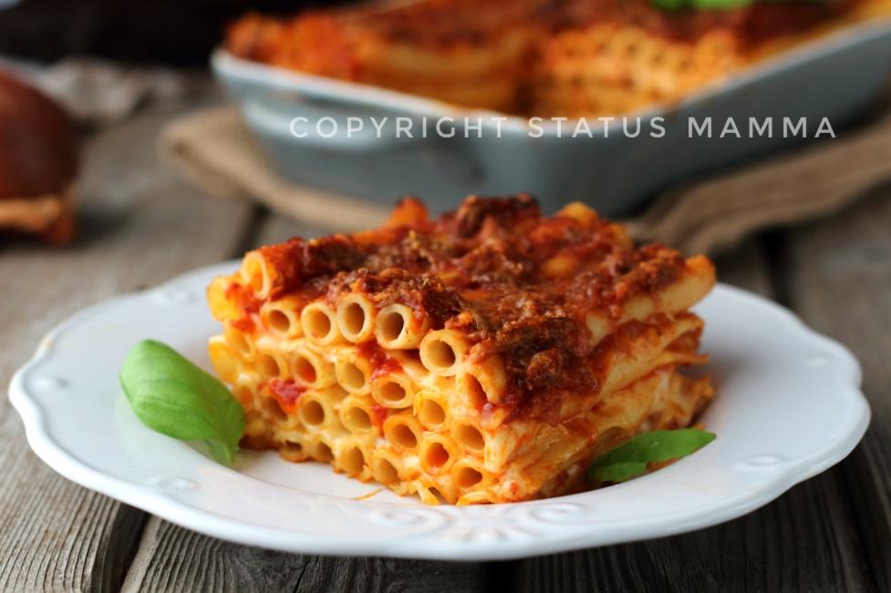 Ricetta napoletana ziti al forno con ragù