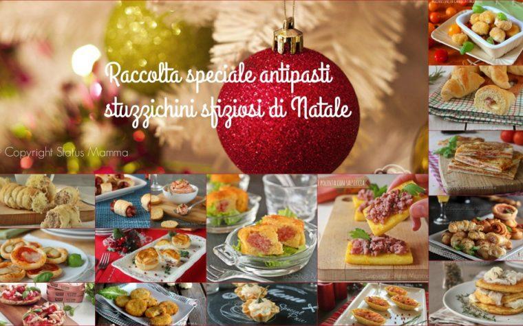 Raccolta speciale antipasti stuzzichini sfiziosi di Natale