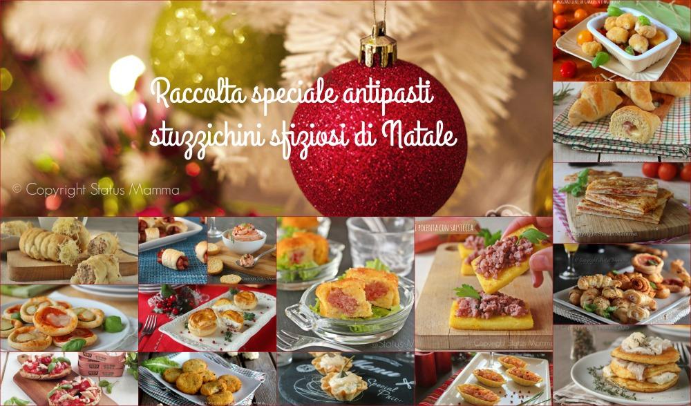 Raccolta speciale antipasti antipasto stuzzichini fingerfood di Natale