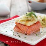 Filetto di salmone con finocchi confit facile sfizioso