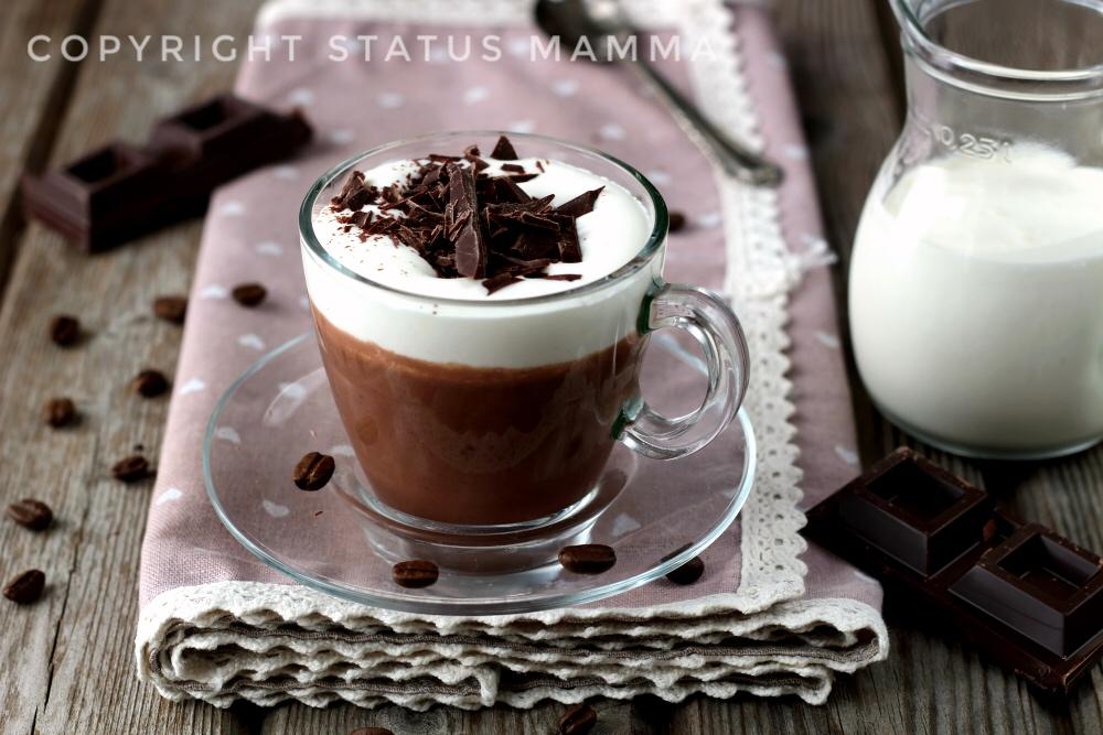 Cioccolata calda al caffè il Buosino