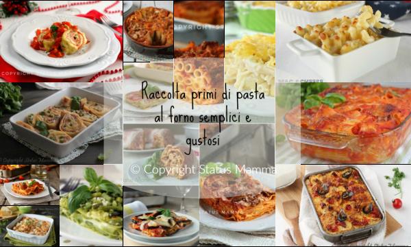 Raccolta pasta al forno primi semplici e gustosi