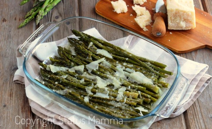 Asparagi alla parmigiana ricetta vegetariana