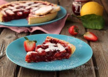 ricette con la frutta cosa cucinare a marzo Ricetta facile e golosa per una marmellatosa crostata di fragole