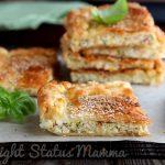Torta salata con zucchine e ricotta in pasta sfoglia