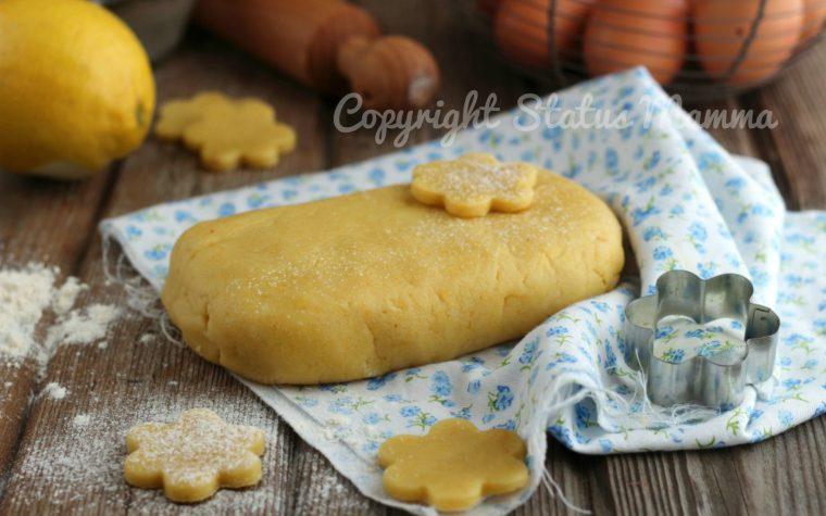 Pasta frolla classica dal risultato friabile che non si deforma in cottura