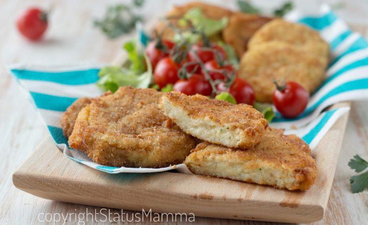 Polpette di filetto di pesce e patate