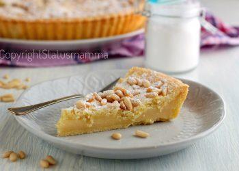 torta della nonna crostata con crema al limone ai pinoli ricetta dolce friabile e cremosa food photo photograpy recipes italy cake