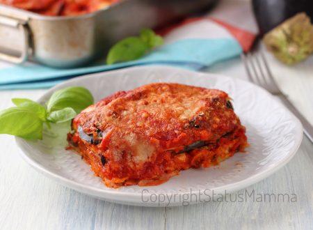 Parmigiana semplice di melanzane