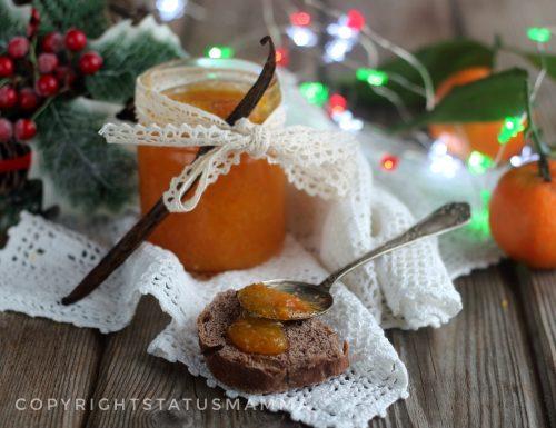 Composta di clementine con scorzette alla vaniglia
