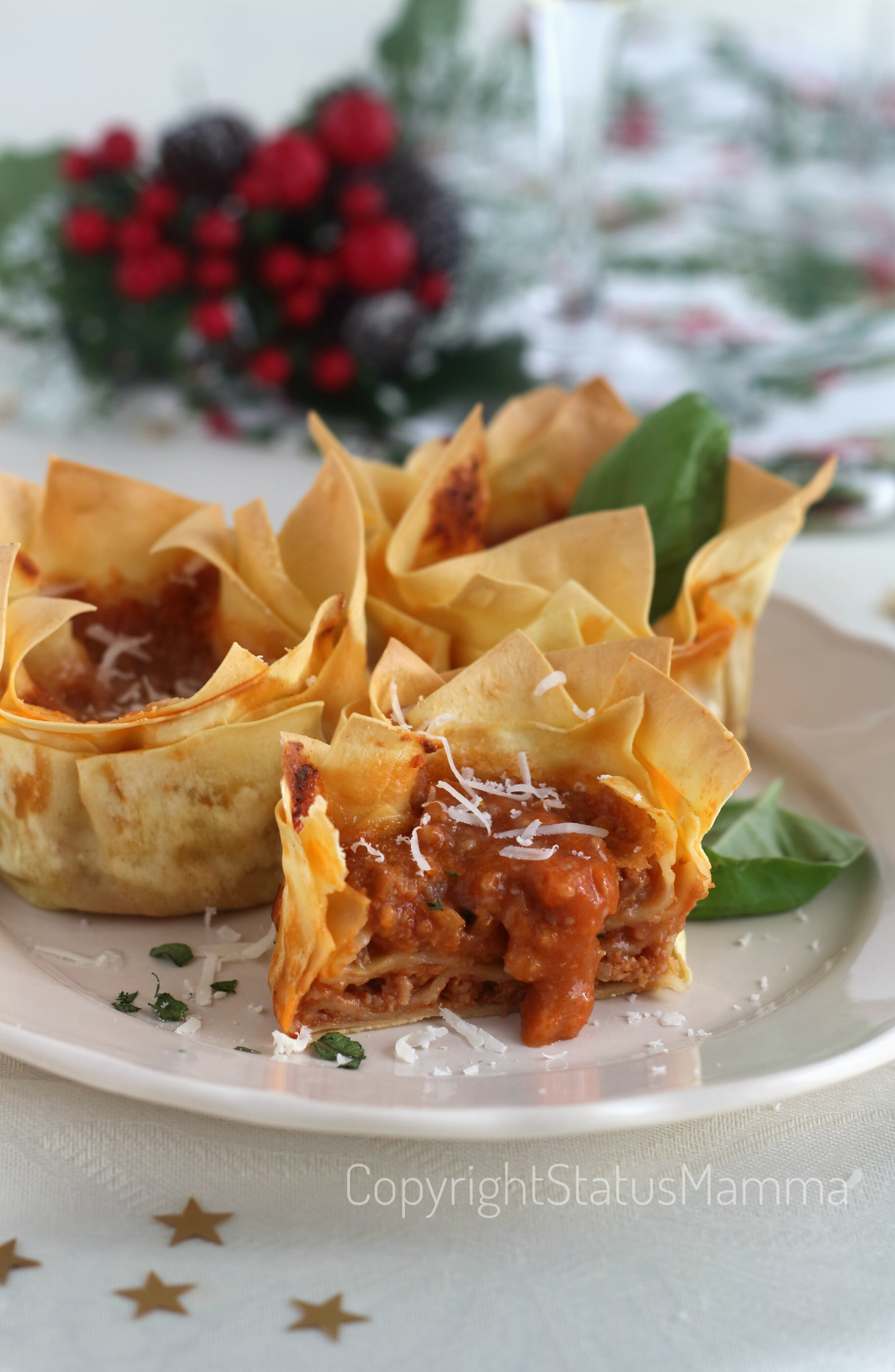 Lasagnette al ragù