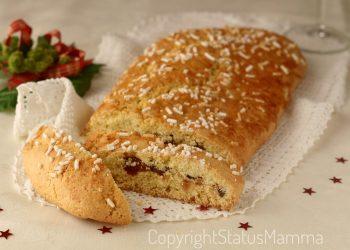Frolla arrotolata Pinza di Natale dolce