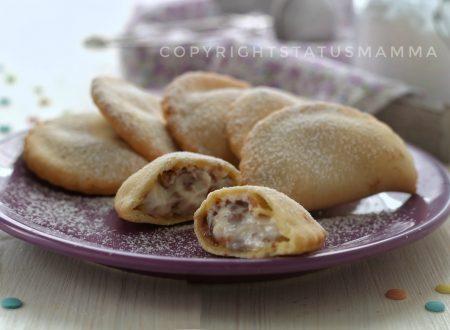 Ravioli dolci ricotta e cioccolato