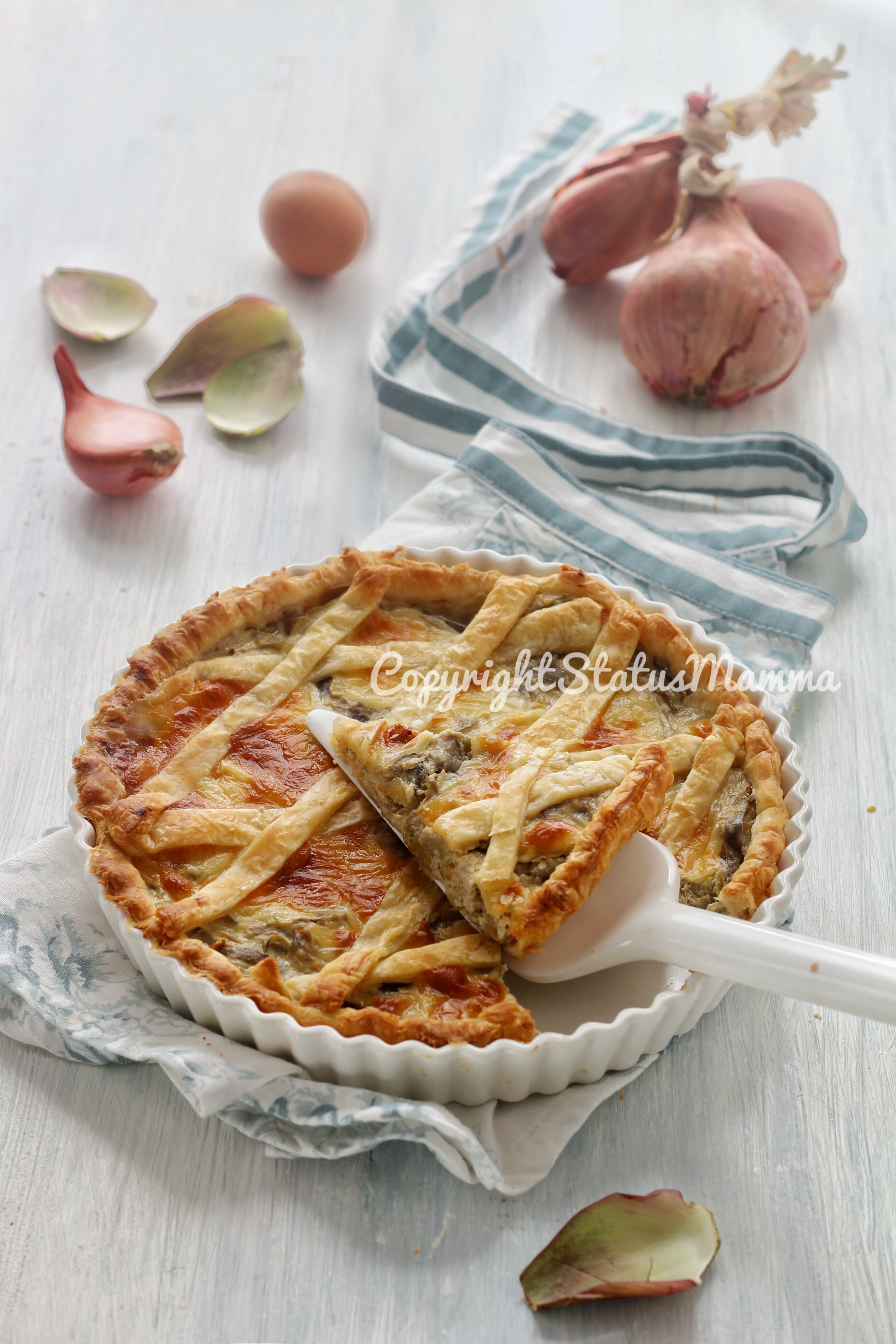 Ricetta torta salata ai carciofi e ricotta