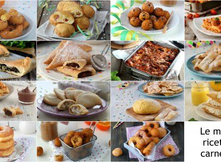 Le migliori ricette di carnevale