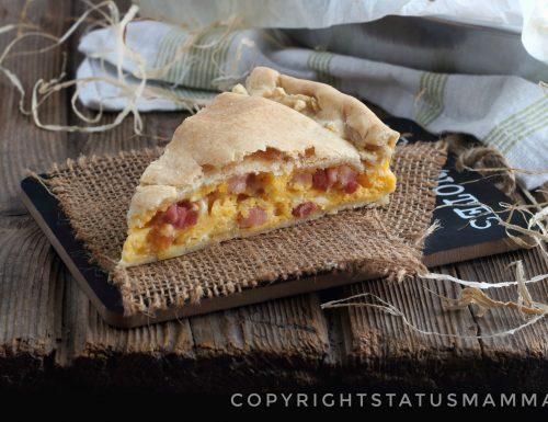 Ricetta torta rustica napoletana salata facile con e senza bimby