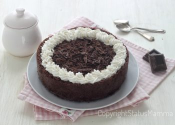 Ricetta torta gelato al cioccolato del Mississippi furbissima