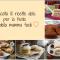 Raccolta 10 ricette dolci per la festa della mamma facili