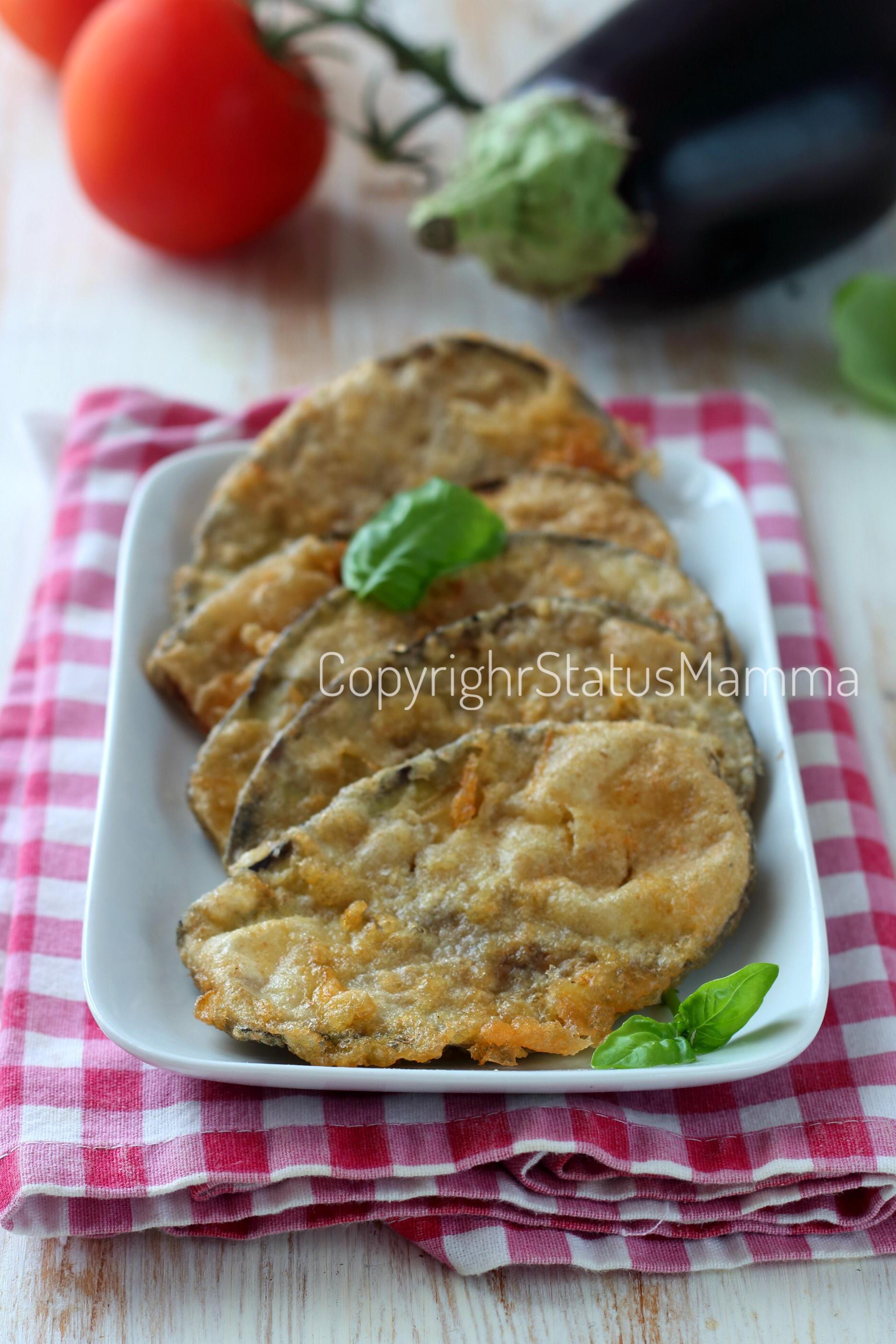 Melanzane impanate e indorate alla napoletana ricetta semplice