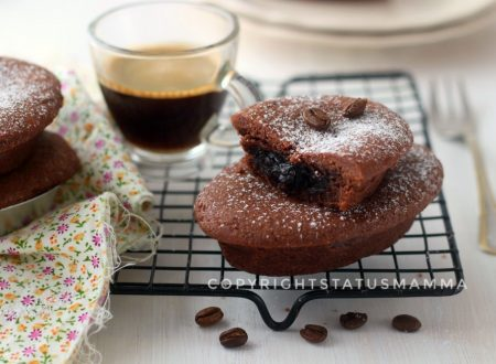 Pasticciotto con crema pasticcera al cioccolato e caffè