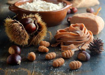 Ricetta base pasta fresca con farina di castagne perfetta