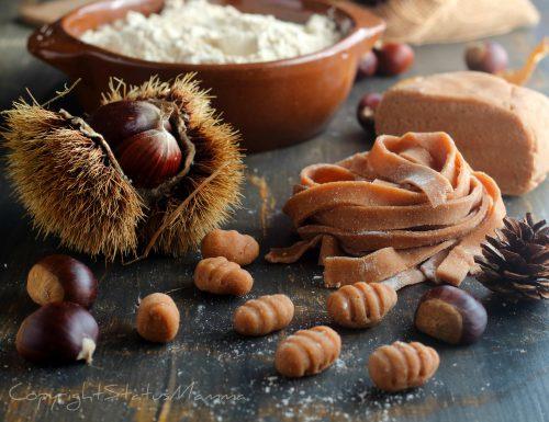 PASTA FRESCA con farina di castagne perfetta