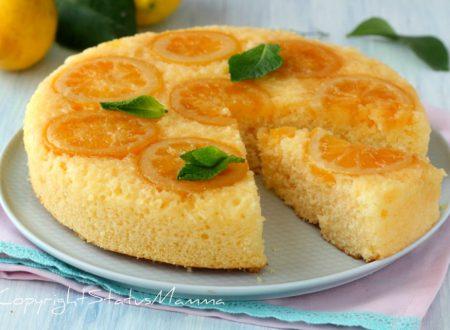 Torta capovolta al limone facile e sofficissima
