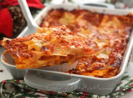 Lasagne al  ragù di salsiccia – ricetta
