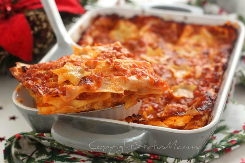 Lasagne con ragù di salsiccia ricetta speciale