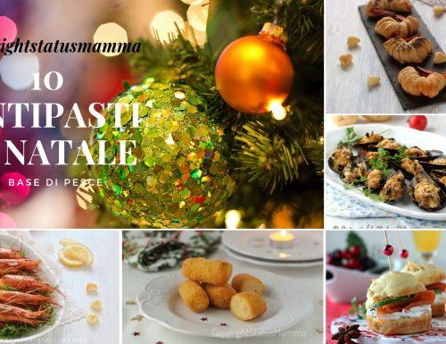 Antipasti di Natale a base di pesce 10 ricette facili sfiziose
