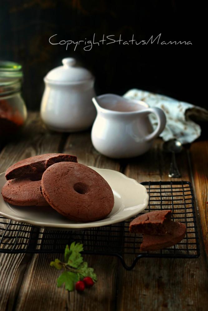 Frollini cacao e panna morbidi e friabili