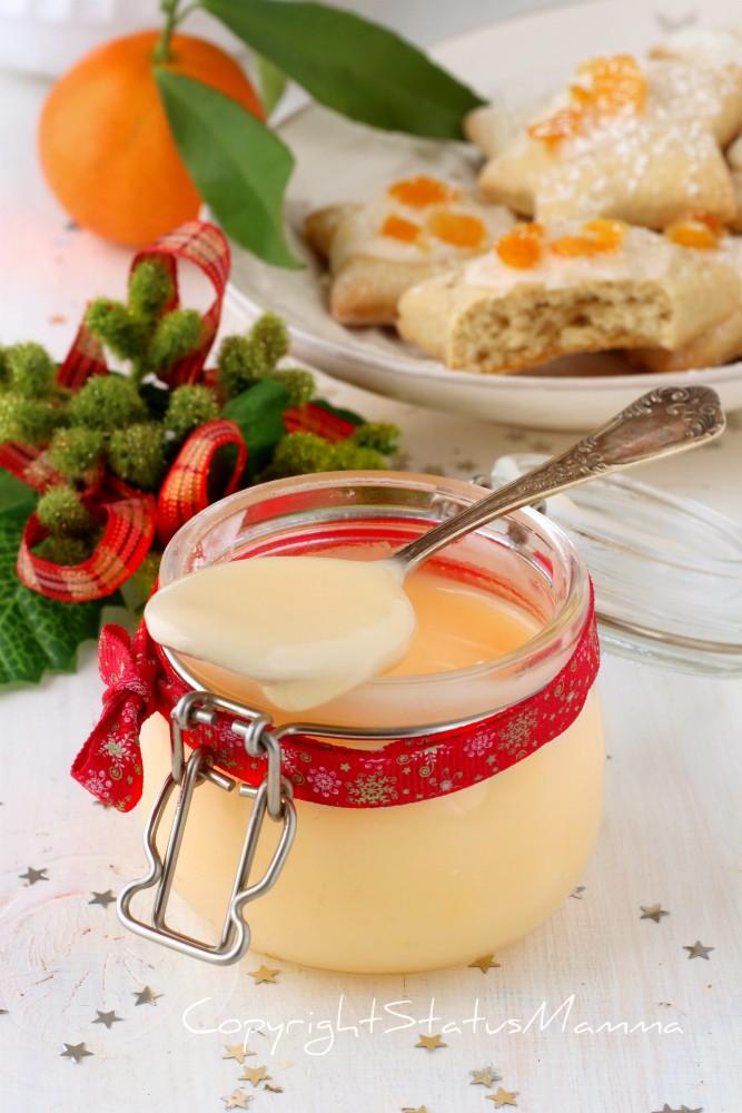 Glassa per biscotti e dolcetti al mandarino senza e albumi clementine arancia agrumi